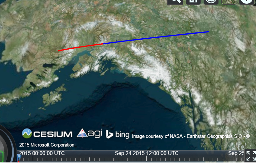 cesiumjs – How to Make Multicolor Polyline
