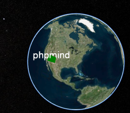 phpmind-cesiumjs-show-name